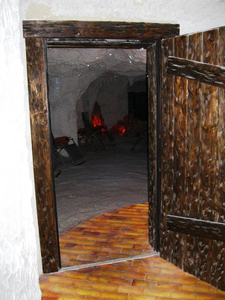 Eingang Salzgrotte